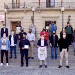 Recepción en el Ayuntamiento de Tudela