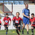Los más pequeños del Club comparten entrenamiento con jugadores del primer equipo