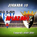 APLAZADO el SD Ejea – CD Tudelano