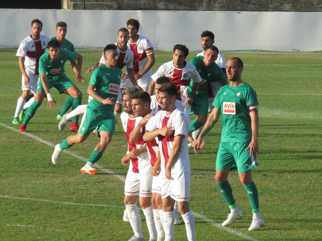 amistoso Eibar Huesca