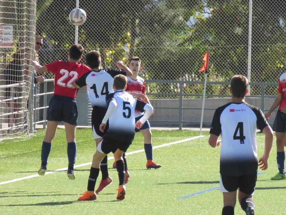 Partido de nuestro equipo 1ª Cadete, disputado el 3 de noviembre