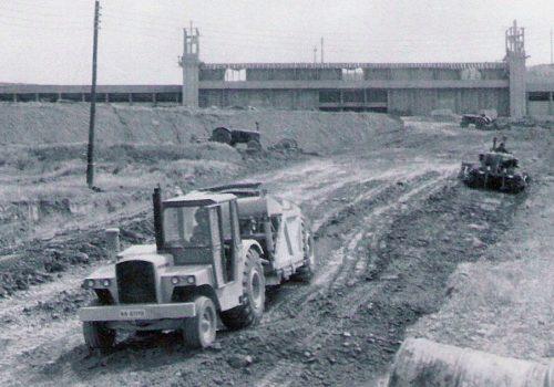 Obras de construcción del Elola